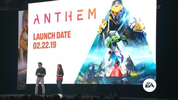Anthemの新作発表シーン