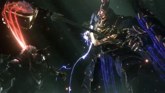 BABYLON'S FALLのゲーム画像