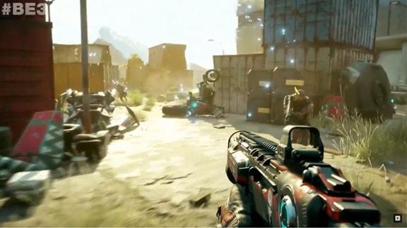 Rage2のゲーム画面