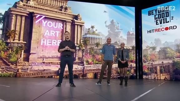 E3 2018のユービーアイソフトの会場の様子