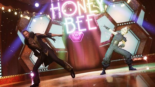 FF7リメイクのダンスのミニゲーム