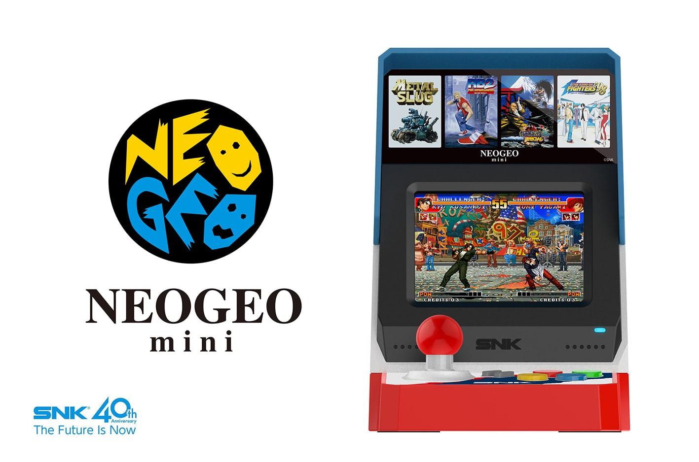 NEOGEO miniの筐体の画像