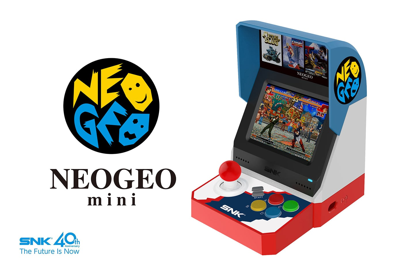 NEOGEO mini(ネオジオ ミニ)の画像