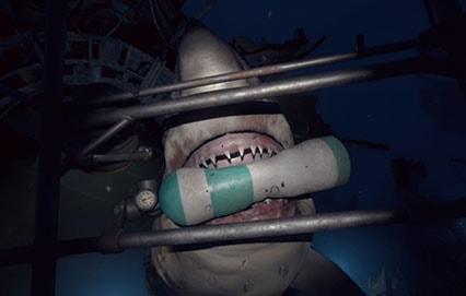 PlayStation VR WORLDSのサメ画像