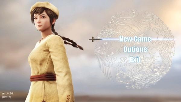 シェンムー3のゲーム画面