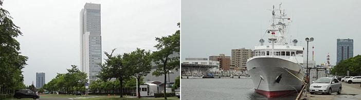 新潟県中央区万代島